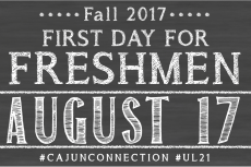 First Day for Freshmen