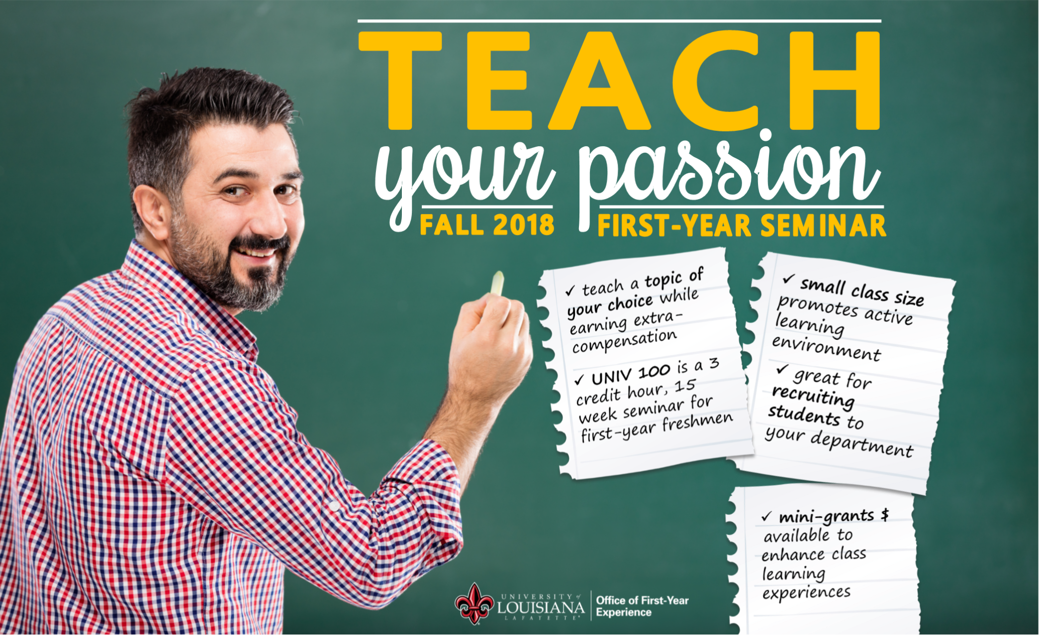 Teach Your Passion!